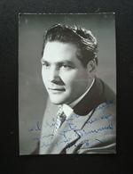 Autografo  Eugenio Fernandi Tenore Bertazzini Lirica - Autografi
