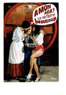 Cpm Humour Vins Et Gastronomie - A La Gloire Du Vin - Femme Pin'up VIGNERON TONNEAU - Pin-Ups