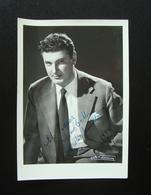 Autografo Ferruccio Mazzoli Basso 1956 Foto Villani Lirica - Autografi