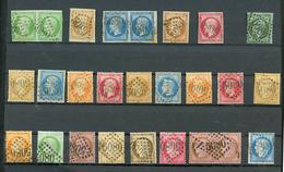 ALEXANDRIE : GC 5080 Sur 25 Timbres Dont 5c(n°12), 1c (n°19) Signé SCHELLER, 80c(n°17) ..... TB. - Frankrijk (oude Kolonies En Protectoraten)