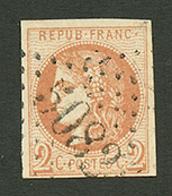 BEYROUTH : GC 5082 Sur 2c BORDEAUX (n°40). Signé BRUN. TTB. - Frankrijk (oude Kolonies En Protectoraten)