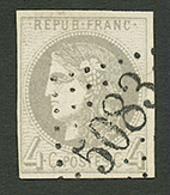 CONSTANTINOPLE : GC 5083 Sur 4c BORDEAUX (n°41). Signé CALVES. TTB. - Frankrijk (oude Kolonies En Protectoraten)