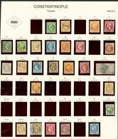 CONSTANTINOPLE : GC 5083 Sur 26 Timbres Dont N°12, 17, 26 (scheller), 27, 33, 53 .... TB, B Ou Pd. - Frankrijk (oude Kolonies En Protectoraten)