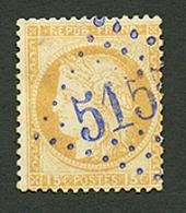 DEDEAGH : GC 5155 Sur 15c CERES(n°55). Léger Aminci. Certificat CALVES. TB. - Frankrijk (oude Kolonies En Protectoraten)