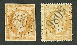 GALLIPOLI : GC 5086 Sur 10c (n°13) Signé SCHELLER Et 10c (n°21). Signé BRUN. TTB. - Frankrijk (oude Kolonies En Protectoraten)