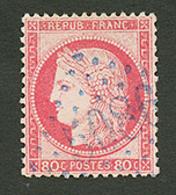 GALLIPOLI : GC 5086 Sur 80c CERES (n°57). Signé BRUN. TTB. - Frankrijk (oude Kolonies En Protectoraten)