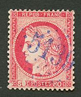KUSTENDJE : GC 5139 Sur 80c CERES (n°57) Léger Aminci. Certificat CALVES. TB. - Frankrijk (oude Kolonies En Protectoraten)