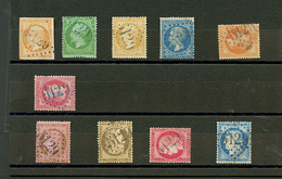 PORT-SAID : GC 5129 Sur 10 Timbres (N°16, 20, 21, 22, 31, 32, 56, 57, 58, 60). 4 Certificats. TB, B Ou Pd. - Frankrijk (oude Kolonies En Protectoraten)
