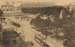 CPA - Belgique - Brussels - Bruxelles - Porte De Tervueren - Etterbeek