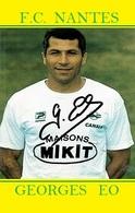 CARTE DE JOUER DU FC. NANTES . GEORGES   EO # REFERENCE . JN.FC. 351 - Voetbal