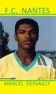 CARTE DE JOUER DU FC. NANTES . MARCEL DESSAILLY # REFERENCE . JN.FC. 351 - Voetbal