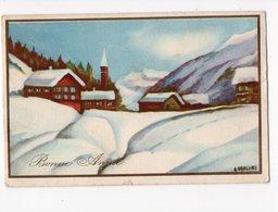 1506 - BONNE ANNEE - Paysage D'hiver - New Year