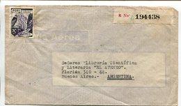 ENVELOPE CIRCULATED FROM PERU TO ARGENTINA YEAR 1945, AIR MAIL. SOBRE CIRCULADO VIA AEREA - LILHU - Peru