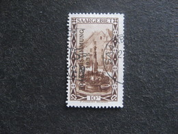 SARRE: TB N° 173, Oblitéré. - 1920-35 Saargebiet – Abstimmungsgebiet