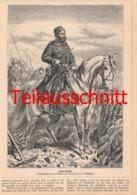 597 Camphausen Osman Pascha Plewen Soldaten Druck 1878 !!! - Unclassified