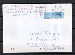 Germania R F T. :  50°Anniversario Della Televisione Tedesca  Isolato  Su Lettera   Cat. Mi  2288 - 7.11.2002 - [7] Repubblica Federale