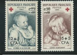 REUNION CFA: **, N° YT 366 Et 367, TB - Réunion (1852-1975)