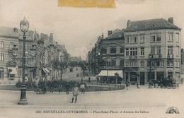 CPA - Belgique - Brussels - Bruxelles - Etterbeek - Place St-Pierre Et Avenue Des Celtes - Etterbeek