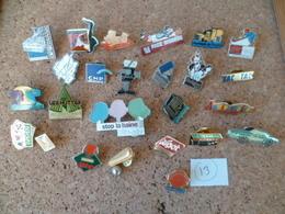 LOT DE 25 PIN'S  ( Lot N° 13 ) - Badges