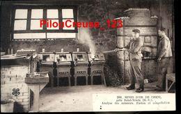 """87 Haute Vienne - SAINT YRIEIX - """" Mines D'Or De CHENI - Analyse Des Minerais - Fusion Et Coupellation """" - Saint Yrieix La Perche"""