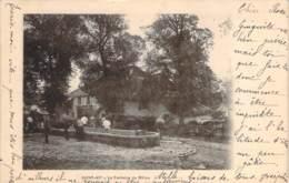25 - Saint-Vit - La Fontaine Du Milieu (chevaux) - Autres Communes