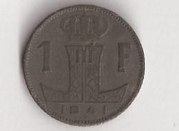BELGIQUE 1 Francs 1941 - 1934-1945: Leopold III