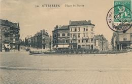 CPA - Belgique - Brussels - Bruxelles - Etterbeek - Place St-Pierre - Etterbeek