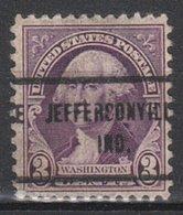 USA Precancel Vorausentwertung Preo, Locals Indiana, Jeffersonville 720-713 - Vorausentwertungen