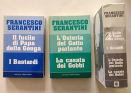 Serantini L'Osteria Del Gatto Parlante Il Fucile Di Papa Della Genga 2 Volumi - Libri, Riviste, Fumetti