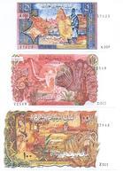 Algeria 4 Note Set 1970 COPY - Algerije