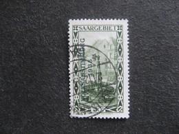 SARRE: N° 177, Oblitéré. - 1920-35 Saargebiet – Abstimmungsgebiet