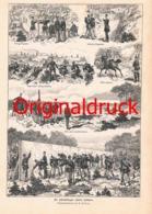 607 E. Hosang Schießübungen Unserer Soldaten Druck 1887 !!! - Unclassified