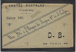 CPA COULON Kaiser Sahara Jacques Premier Lebaudy Sucre Pochette Servant à Contenir Les Cartes Postales - Western Sahara