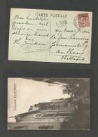 MARRUECOS - British. 1924 (31 Aug) BPO. Tangier - Netherlands, Den Haag. Fkd Ppc With Catholic Church + Kodak Photo Adve - Morocco (1956-...)