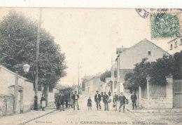 78 // CARRIERES SOUS BOIS    Rue De Saint Germain, Edit Gras  ** - Otros Municipios