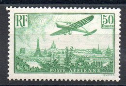 FRANCE - YT PA N° 14 - Neuf * - MH - Cote: 1100,00 € - 1927-1959 Ungebraucht