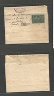 GUATEMALA. 1897 (Nov) GPO - Belgium, Gand, 6c Green Stationary Wrapper. Addressed To Medicine Faculty Profesor. Fine. - Guatemala