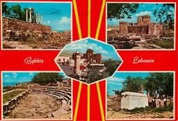 Liban - Lebanon - Jbeil - Ryblos - Multivues - Semi Moderne Grand Format - 2 Scans - état - Lebanon