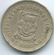 Falkland Islands - Elizabeth II - 1987 - 1 Pound - KM24 - Falkland Islands