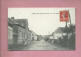 CPA  - Fienvillers  -(Somme) - L'école Rue De Candas - Francia