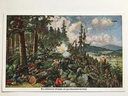 AK Die Erbitterten Kampfe Am Hartmannsweilerkopf Hartmannsweiler Kopf Vieil Armand Soldats - Guerre 1914-18