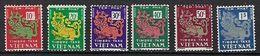 """Viet-Sud Taxe YT 1 à 6 """" Dragon """" 1952 Neuf** MNH - Viêt-Nam"""