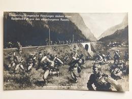 AK Karpathen Pas Osterreichisch Ungarische Abteilungen Eingedrungen Russe Soldats Russen - Weltkrieg 1914-18