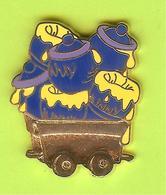 Pin's BD Disney Train Miel (Winnie L'Ourson) - 10Y02 - Disney