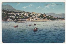 Hercegnovi Castelnuovo Old Postcard Travelled 1913 To Austria B190510 - Montenegro