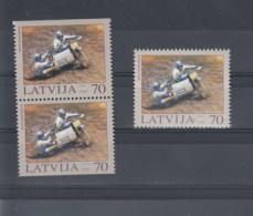 Lettland Michel Cat.No.  Mnh/** 599 + D/D - Latvia