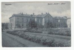 "Zagreb Zgrada ""Sokol"" I ""Kolo"" Old Postcard Travelled 1908 B190510 - Croacia"
