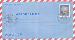 MONACO   - AEROGRAMME 3.70  - MONACO EXPOSITION PHILATELIQUE 13.11.87    /  2 - Entiers Postaux