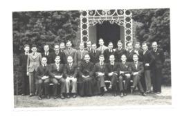 THEUX - Ecole Normale St-Roch - Photo ( ( 8,5 X 13,5 Cm) De La IV Normale 1940/1941 - TOUS Les Noms Au Verso (bg) - Lieux