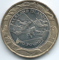 Falkland Islands - Elizabeth II - 2004 - 2 Pounds - KM137 - 30th Anniversary Of Coinage - Falkland